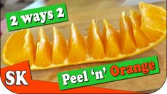 You've Been Peeling Oranges Wrong Your Whole Life Easy Cooking, Cooking Tips, Creative Food Art, Oranges And Lemons, Easy Peel, Fruits And Veggies, Citrus Fruits, Orange Peel, Fruit Recipes