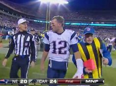 tom brady drops the f bomb   Tom Brady Drops F-Bomb At Ref After Patriots Lose [VIDEO] - Business ...