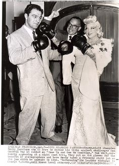"""When I'm good, I'm good, but when I'm bad, I'm better.""//Mae West & Rocky Marciano"