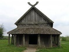 Viking longhouse replica, Denmark. http://www.os-midgard.info/midgard/galerie.php?gal=dansko_2007