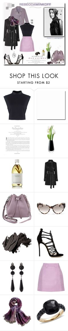 """Be the First To Style Rebecca Minkoff's Spring 2016 Collection!"" by prettynposh2 ❤ liked on Polyvore featuring Rebecca Minkoff, LSA International, Susanne Kaufmann, Prada, Bobbi Brown Cosmetics, Dsquared2, Givenchy, STELLA McCARTNEY, Chico's and Pomellato"