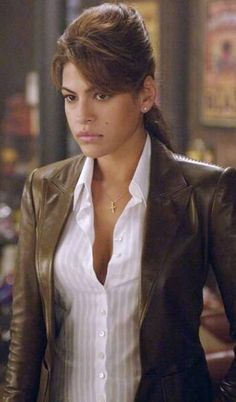 Looking Gorgeous Ghost Rider Roxanne Simpson Eva Mendes Jacket for sale at fitjackets!!  #GhostRider #Movie #EvaMendes #Halloween #Sexy #Hot #Shopping #geek #cheezburger #geektyrant #geekcheezburger #Celebrities #Cosplay #Fashion #MenFashion #LeatherOutfit #Hollywoodmovie