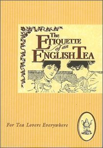 The Etiquette of an English Tea Gift Book From Copper Beech Publishing