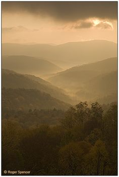 Highland Scenic Highway in Pochantas County, WV. Roger Spencer Photography