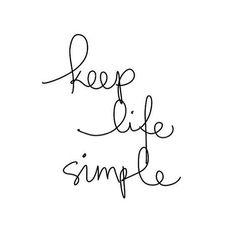 Keep it simple! Check out our tips for dealing with a lot of things at once and managing to find balance www.adoreness.com #style