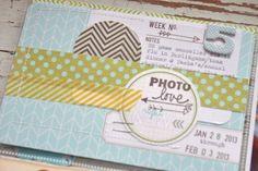 journal card idea Mish Mash: Project Life 2013....Week 5