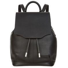 Rag & Bone Pilot Mini Backpack ($640) ❤ liked on Polyvore featuring bags, backpacks, drawstring bag, drawstring sports bag, mini backpack, day pack backpack and miniature backpack