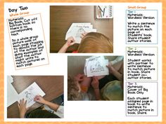Differentiated Guided Reading Kinder Books