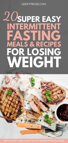 20 super easy intermittent fasting meals recipes for losing weight - keto & low carb - Interested in losing weight with intermittent fasting? These are 20 low carb meal prep recipes for - Keto Diet Breakfast, Breakfast Recipes, Dinner Recipes, Breakfast Ideas, Healthy Meal Prep, Healthy Eating, Healthy Food, Low Carb Recipes, Healthy Recipes