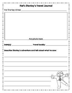 Unit 4 Flat Stanley Travel Journal
