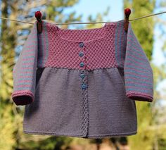 layette brassière coton 3 mois neuve tricotée main : Mode Bébé par com3pom