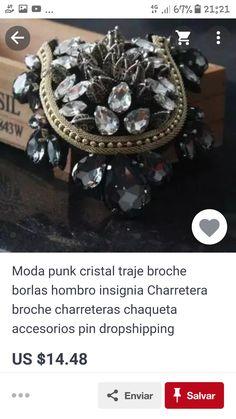 Moda Punk, Crystals, Accessories