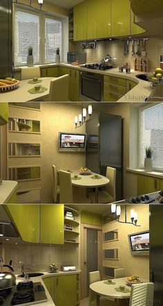 New Bedroom Organization Furniture Kitchens 63 Ideas Kitchen Furniture, Kitchen Decor, Kitchen Design Open, Cuisines Design, Small House Plans, Interior Design Living Room, Sweet Home, House Design, Home Decor