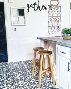 """3158876e Mary Alex on Instagram: """"Dreaming of summer when I can tackle projects like  finishing the shelving under our diy concrete counters. My life is an  unfinished ..."""