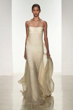 Jade, Amsale Spring 2015 Bridal Collection | #Wedding #Dress