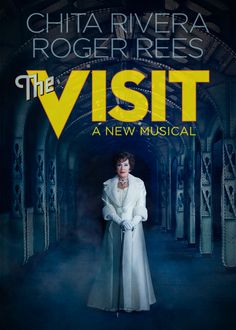 'The Visit' will be the theatrical event of the #Broadway season and the most engaging and thrilling new musical in many years.