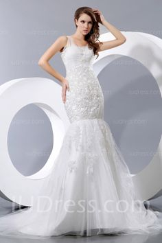Gorgeous Floor-Length Organza Mermaid Wedding Dresses List Price: $568.00 Price: $199.99