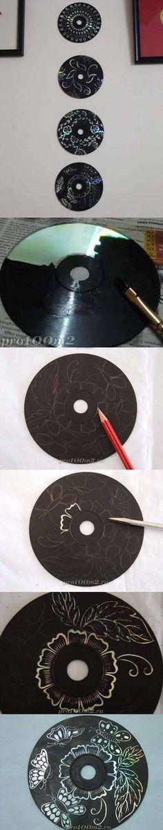 20 ideas para reciclar tus CDs y DVDs viejos! - Hazlo t... en Taringa!