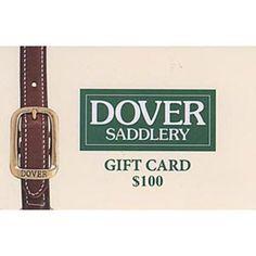 $100 Dover Saddlery Gift Card
