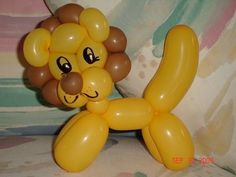 LEONCITO CON GLOBOS .- EASY LION. BALLOON TWISTING. (+lista de reproduc...