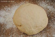 Neus cocinando con Thermomix: Masa para pizza de Jamie Oliver