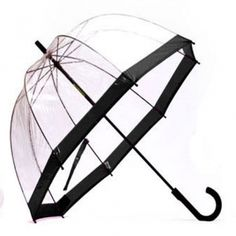 Bubble umbrella... also much needed! Save the hair and see where you're going!