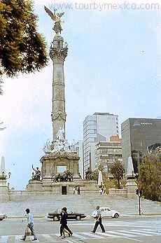 Angel de la Independencia. Ciudad de Mexico Reforma www.tourbymexico.com