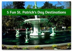 St. Patrick's Day Destinations. Depending on where you live, St Patrick's Day may not be a big deal. For thesecitiesit is a big deal.