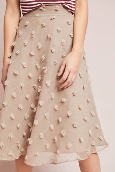Marlow Textured Skirt #Anthropologie