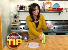 Rachael shows you how to clean stained food storage containers. #SpringCleaning