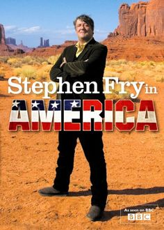 'Stephen Fry in America' -- This DVD cover looks so dull without the inscription, 'Dear Lisa With Love Stephen Fry'... ;-)