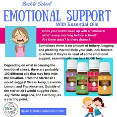 Back to School With Essential Oils--Emotional Support Essential Oils For Autism, Thieves Essential Oil, Young Living Essential Oils, Essential Oil Blends, Oil Quote, Emotional Child, Back To School Essentials, Yl Oils, Anxiety In Children