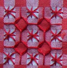 Discover thousands of images about Broderie Suisse, Chicken scratch, Swiss embroidery, Bordado espanol, Stof veranderen. Embroidery Patterns Free, Cross Stitch Embroidery, Hand Embroidery, Embroidery Designs, Cross Stitches, Chicken Scratch Patterns, Chicken Scratch Embroidery, Motif Mandala Crochet, Bordado Tipo Chicken Scratch