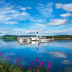 """Whenever we're in the #Hamarregion we take a trip on Norway's largest lake with paddle steamer #Skibladner - aka """"the White Swan of Mjøsa""""  : @frederik_garshol_foto  @visithamarregionen @visitosloregion"""