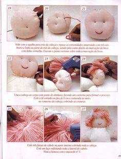 Créditos: Revista Arte com as Mãos Bonecas de Pano n°09