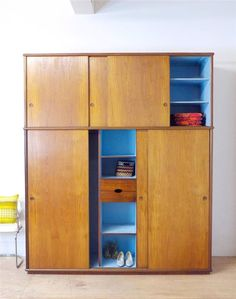 Stunning Danish Teak Extra Large Fitted Mid Century 60's Wardrobe in Antiques, Antique Furniture, Armoires/ Wardrobes