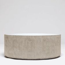 CARA OVAL COFFEE TABLE-new SAND COLOR