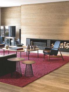 un cran extraplat pour un salon ultra moderne un salon moderne avec grand cran tl - Salon Ultra Moderne