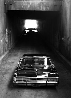 """Okay so the 67' Chevy impala that is used on supernatural is a beautiful car and I found out that my grandfather used to have one and he said """"I should've known you like that car, beautiful vehicle really. Now I feel bad for not saving it for you."""""""