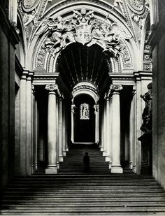 Bernini, Scala Regia, 1663-1666