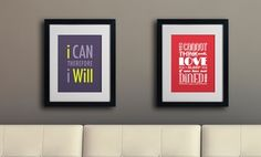 Groupon - Megan Romo Framed Typographic Art Prints. Free Shipping and Returns.  in Online Deal. Groupon deal price: $0.37