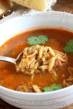 Chorba au poulet recette ramadan