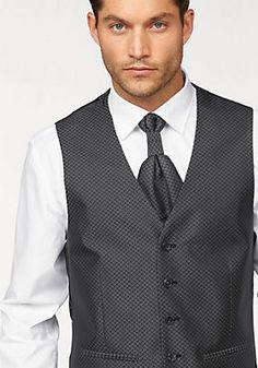 Studio Coletti Anzug 5-teilig (Set, mit Weste, mit Plastron und Einstecktuch) in schwarz im OTTO Online Shop