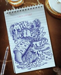 World's Coolest Grocery List - nice #inspiration