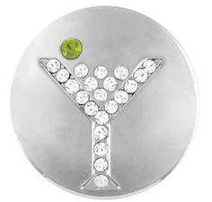 Ginger Snaps Martini Glass Snap