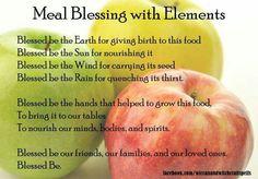 Meal Blessings