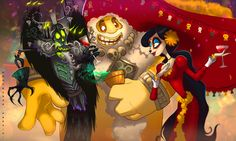 Gods' Night Out | The Book of Life