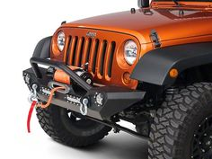 Barricade Trail Force HD Front Bumper w/ LED Lights (07-16 Wrangler JK)