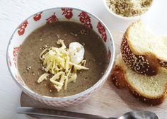 Soup Week: Mushroom Cheddar Chowder