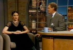 Madonna on David Letterman.